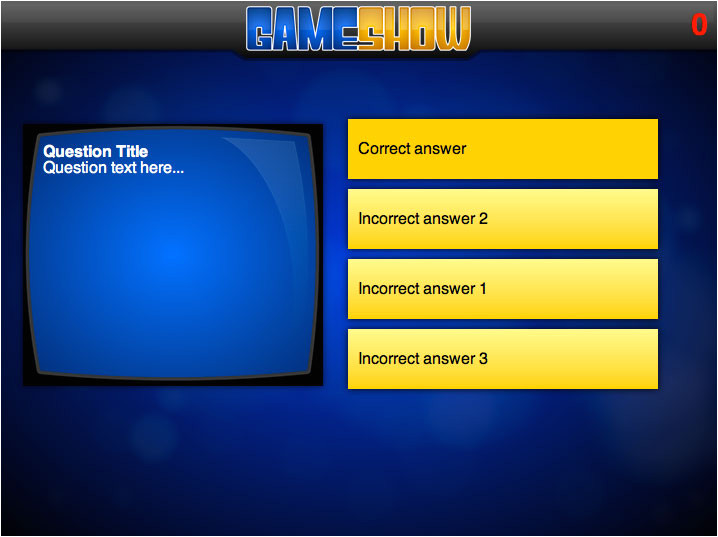 millionaire game show powerpoint template