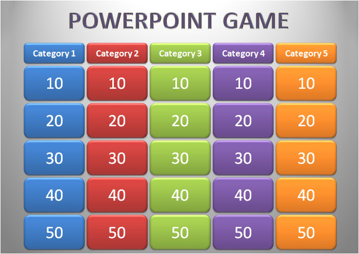 powerpoint game template