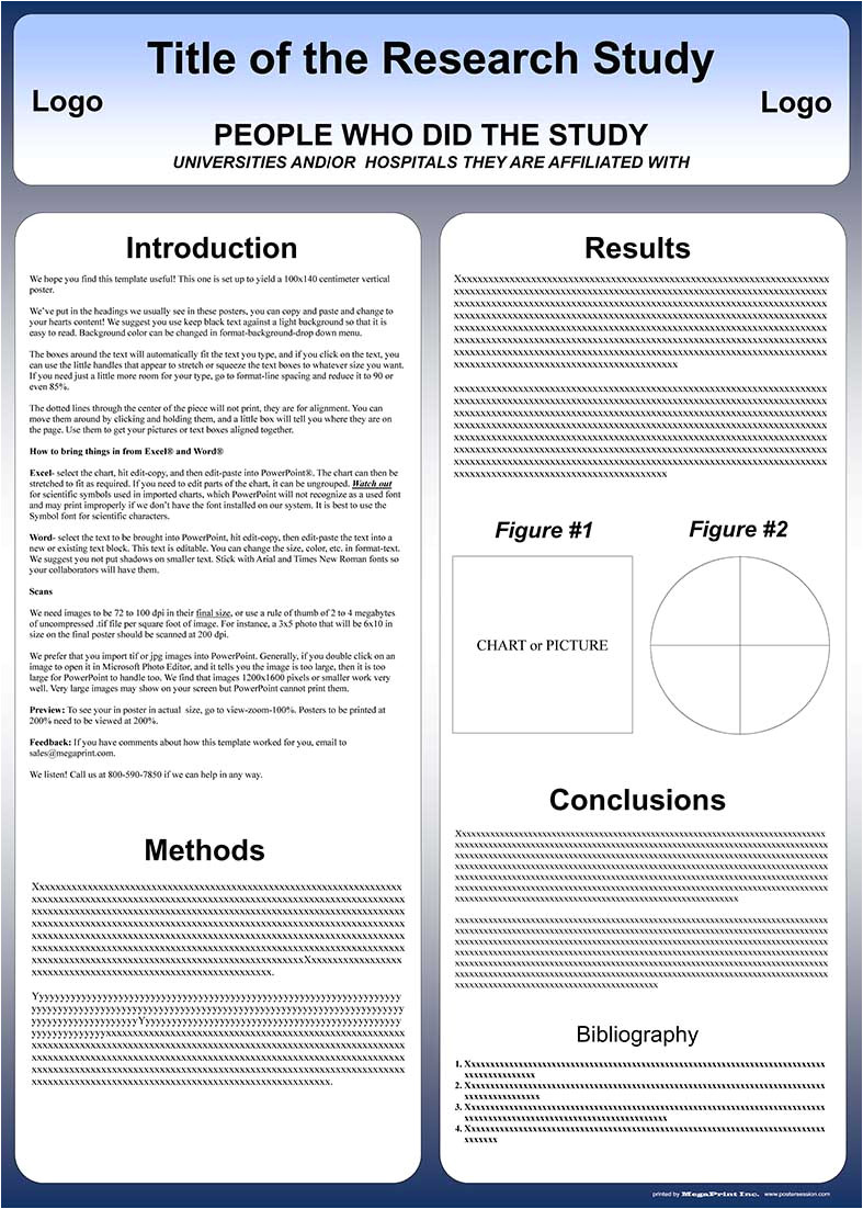 template poster cientifico powerpoint