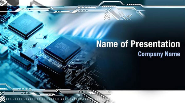 computer board powerpoint templates 08666w