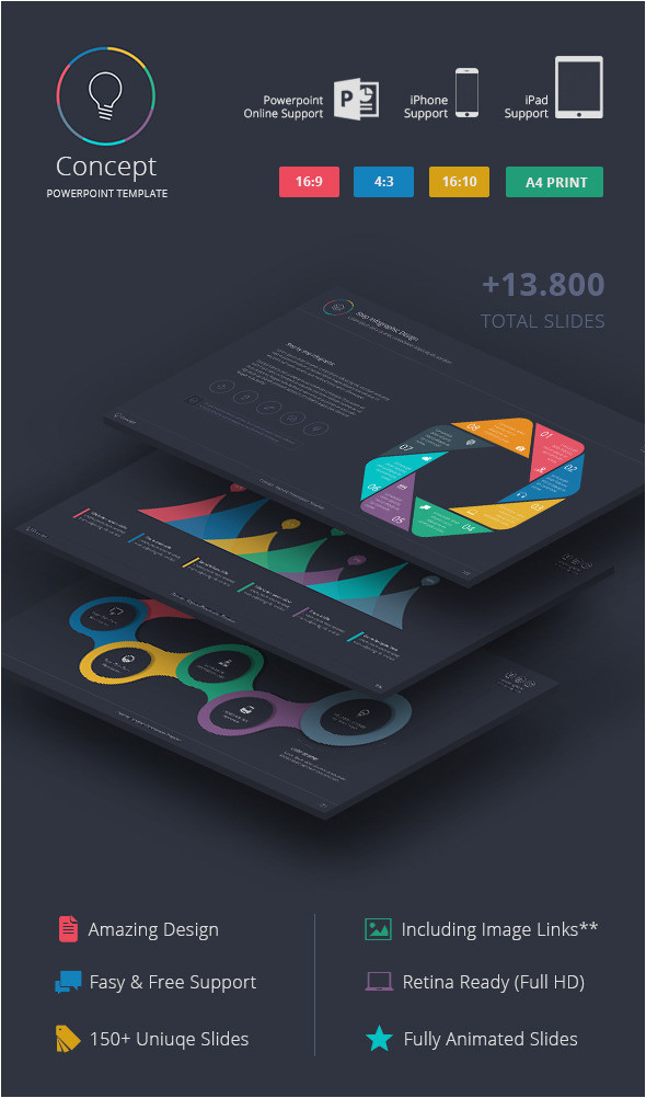 12 best powerpoint presentation templates with great infographic slides cms 25379