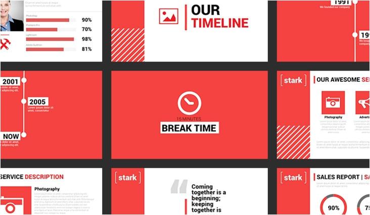 powerpoint theme vs template