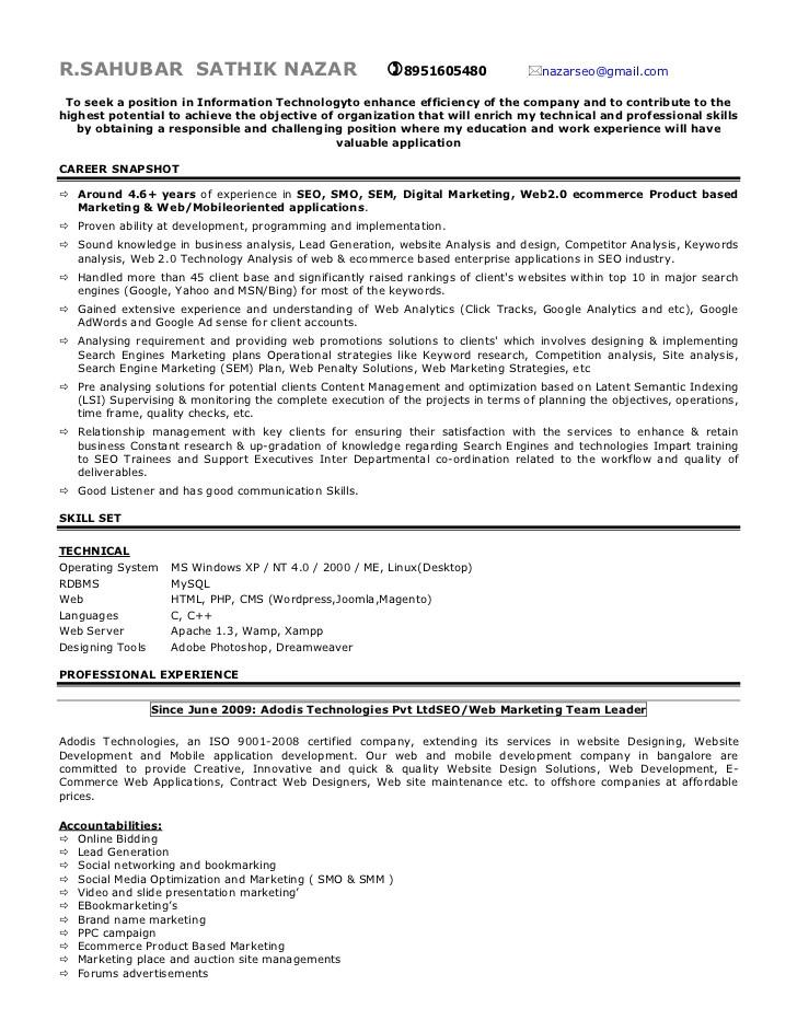 Ppc Resume Sample Ppc Expert Resume thesistemplate Web Fc2 Com