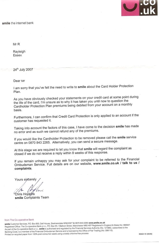 Ppi Claim Template Letter to Bank Ppi Claim Letter Template for Credit Card Gallery