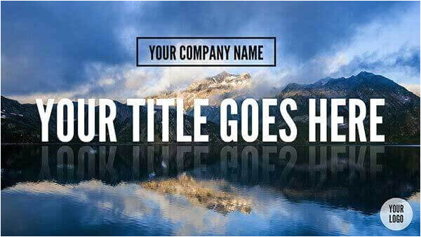 free powerpoint title slides templates