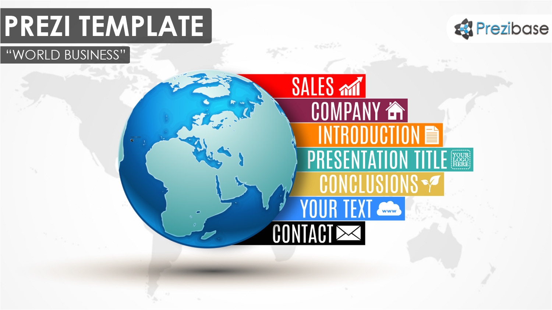 infographic diagram prezi templates