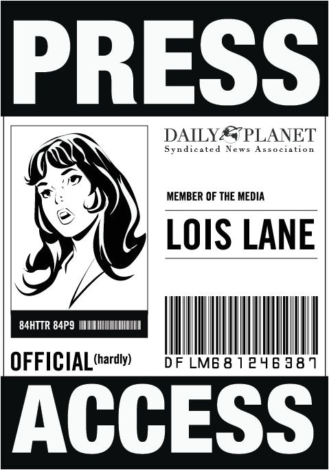 official press pass template shtml