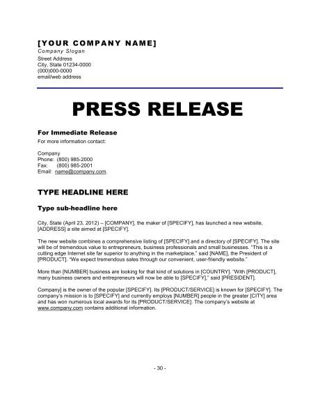 press release new website d749