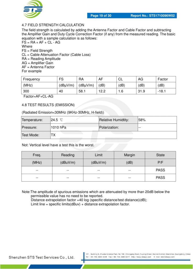pressure gauge calibration certificate template