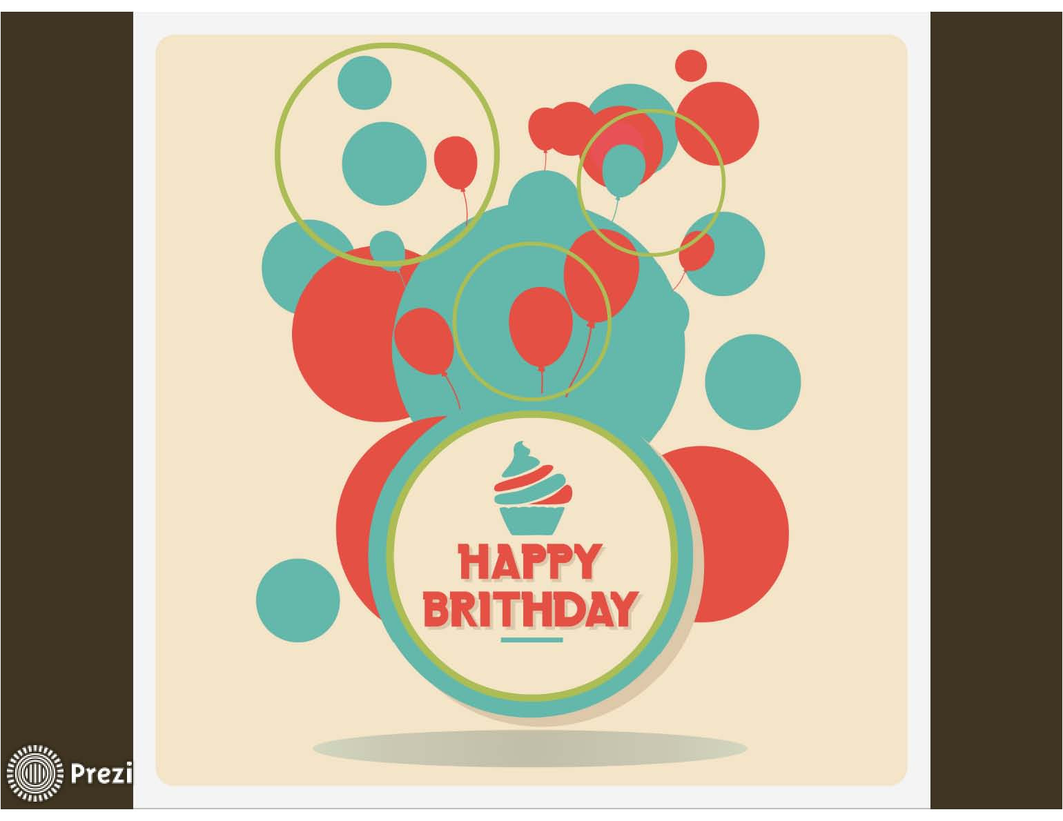 Prezi Birthday Template Happy Birthday 3 Prezi Premium Templates