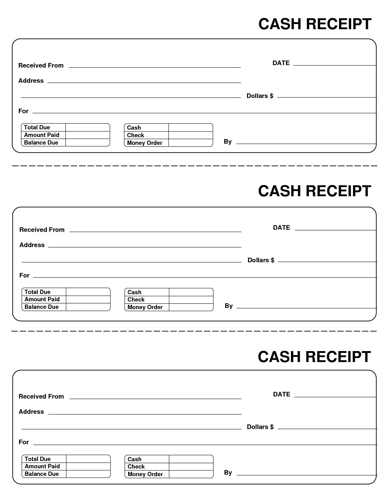 post blank receipt template 98166