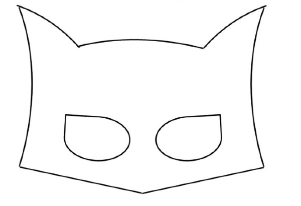 post batman superhero mask template printable 409559