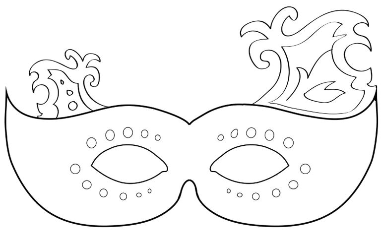 free printable masquerade mask templates