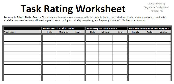 post printable task worksheet 162344