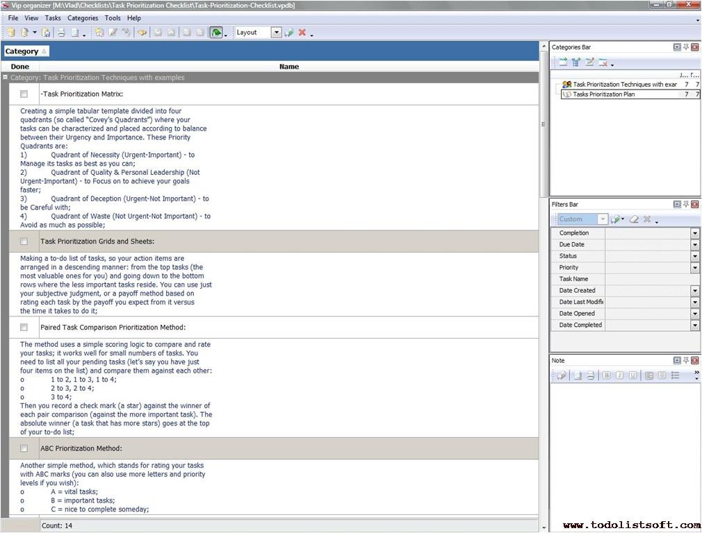 task management templates