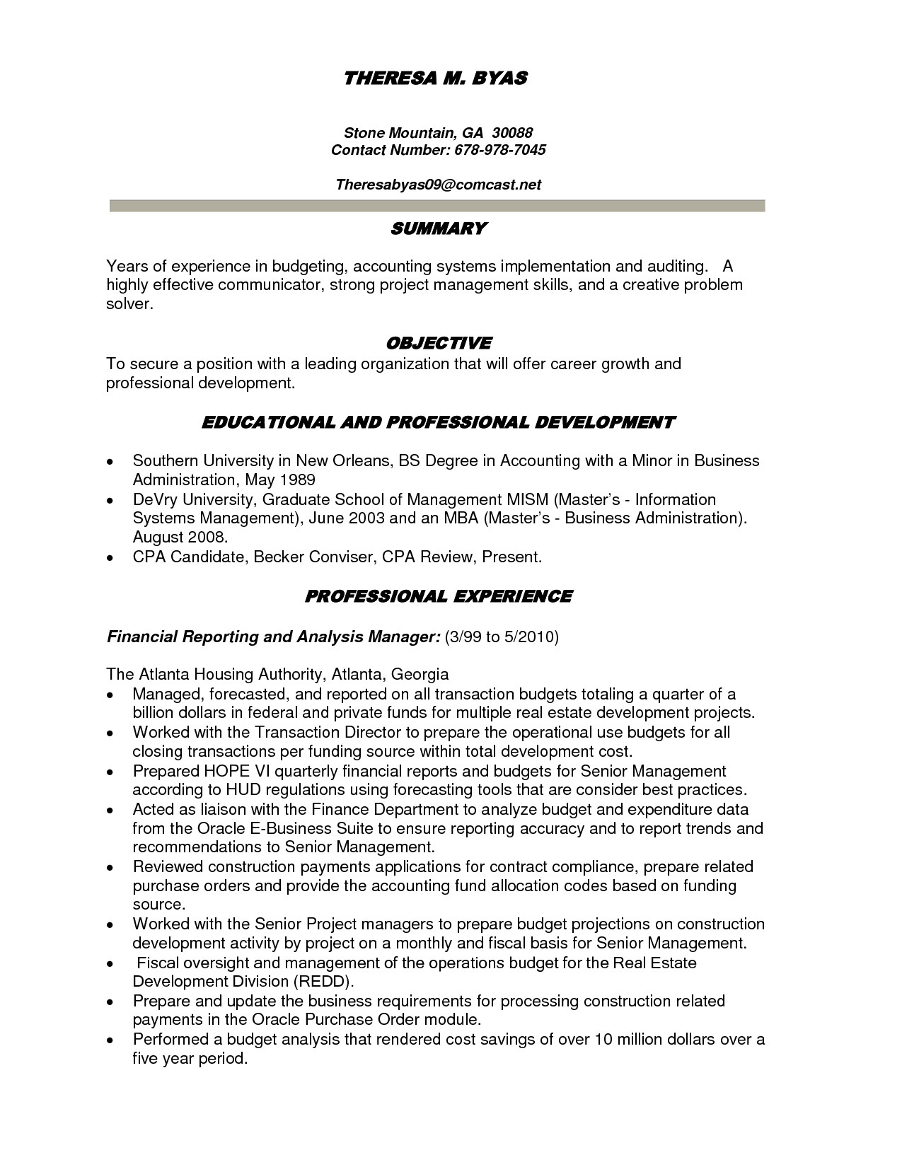 equity analyst cover letter