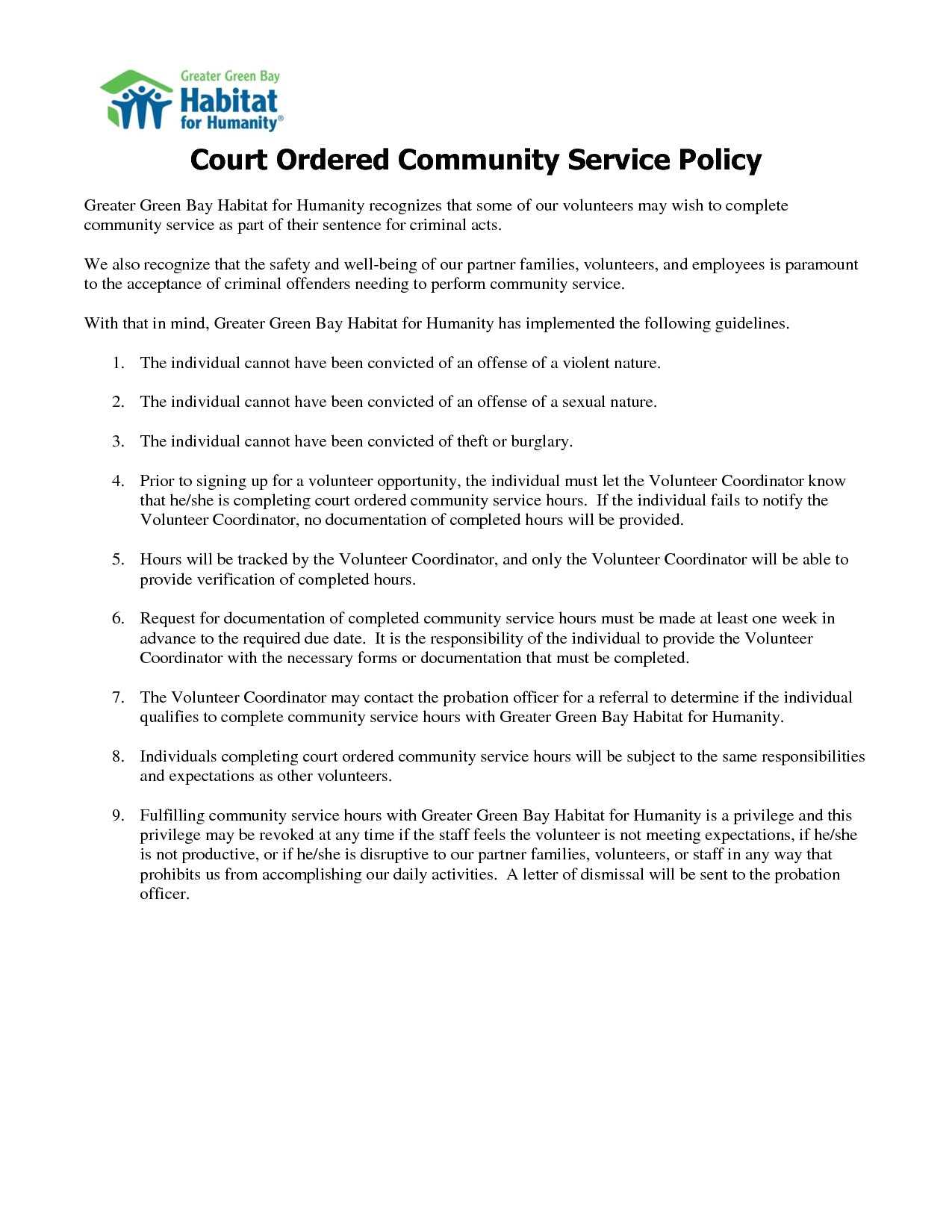 probation meeting template awesome community service letter for court sample suitable screenshoot