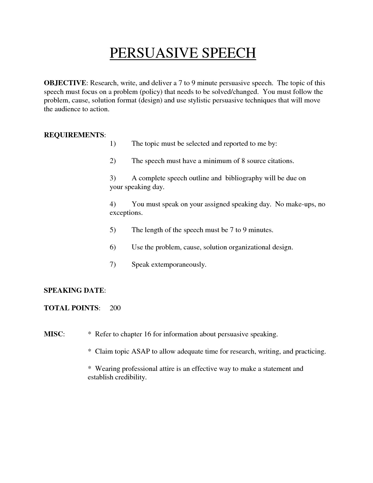 Problem solution Outline Template Best Photos Of Persuasive Speech Outline with References