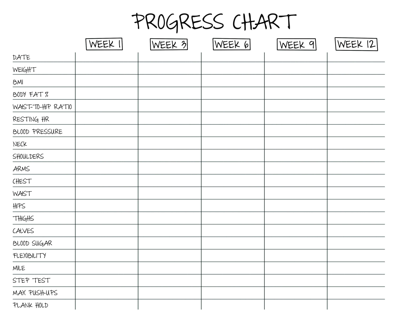 no more excuses 12 week challenge