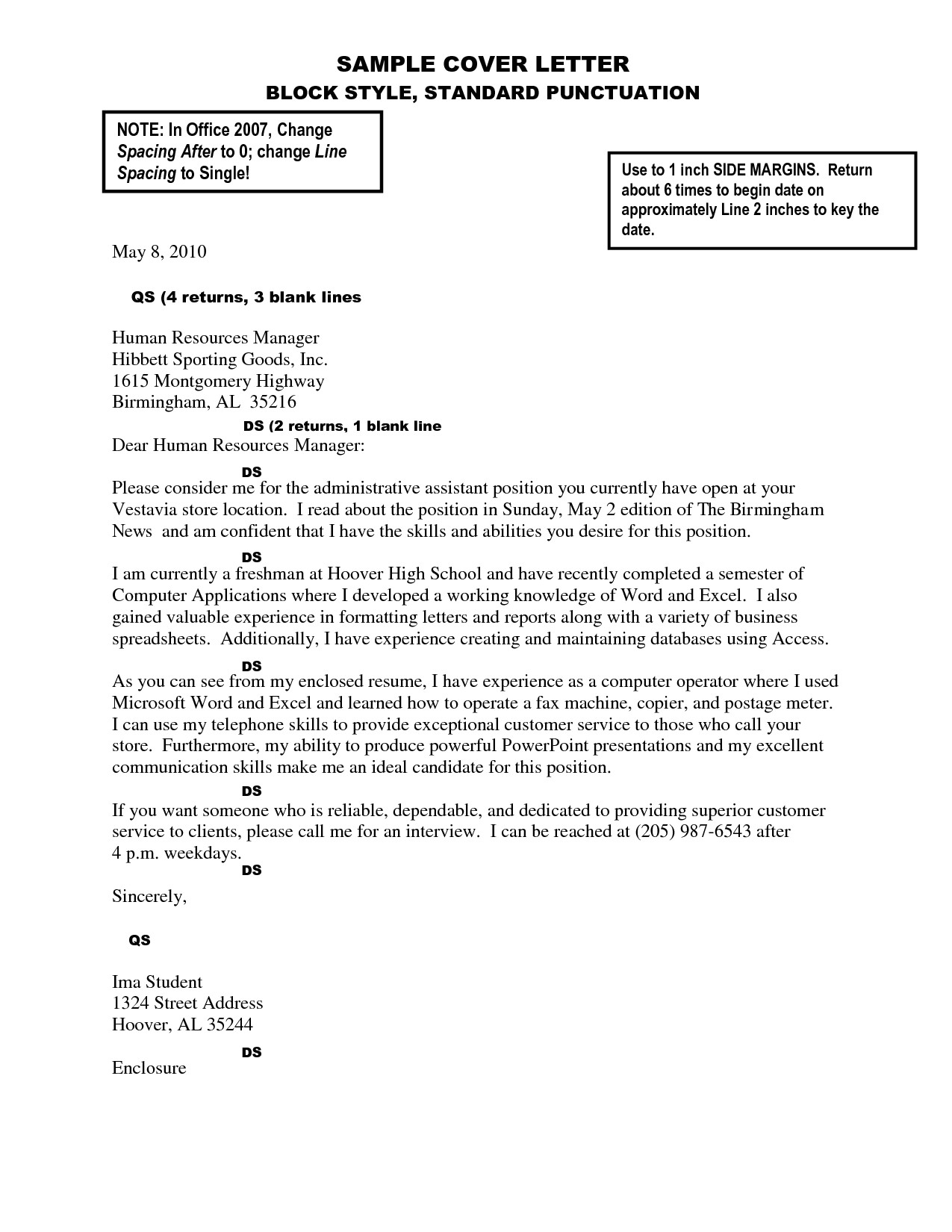 Proper Spacing for A Cover Letter Cover Letter format Spacing Best Template Collection