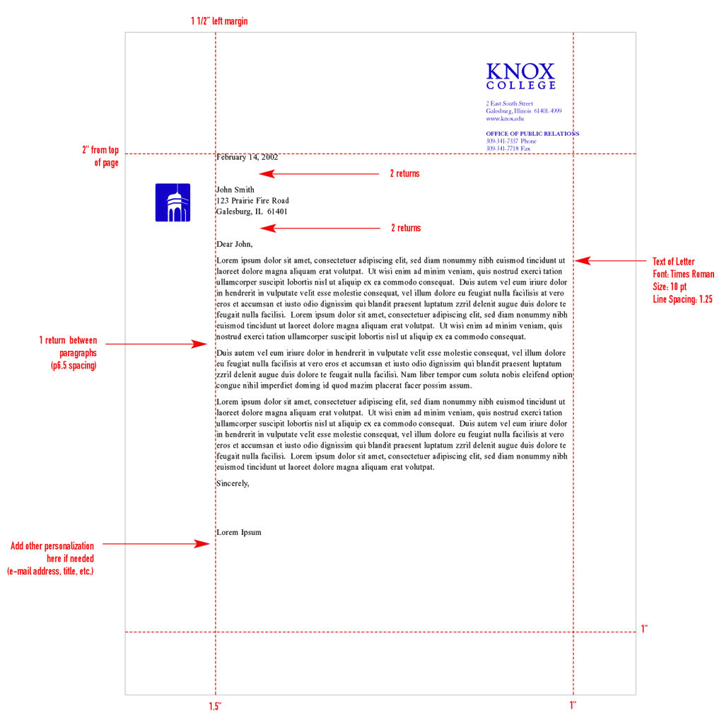 Proper Spacing for A Cover Letter Letter format Spacing Crna Cover Letter