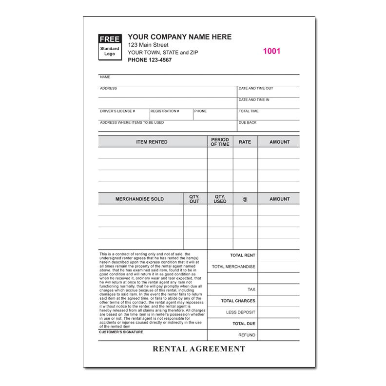 68 property management invoice forms