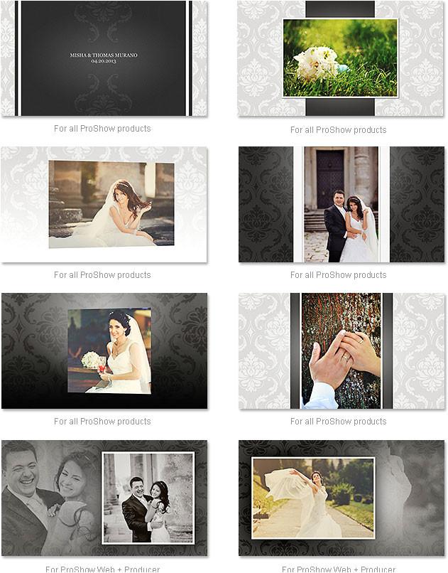 proshow producer wedding templates free