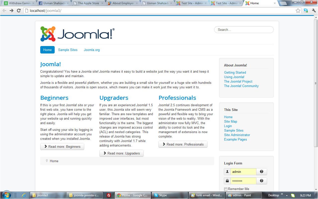 joomla protostar