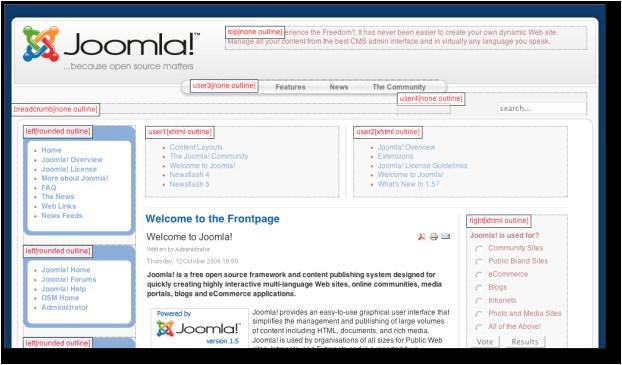 joomla protostar template positions