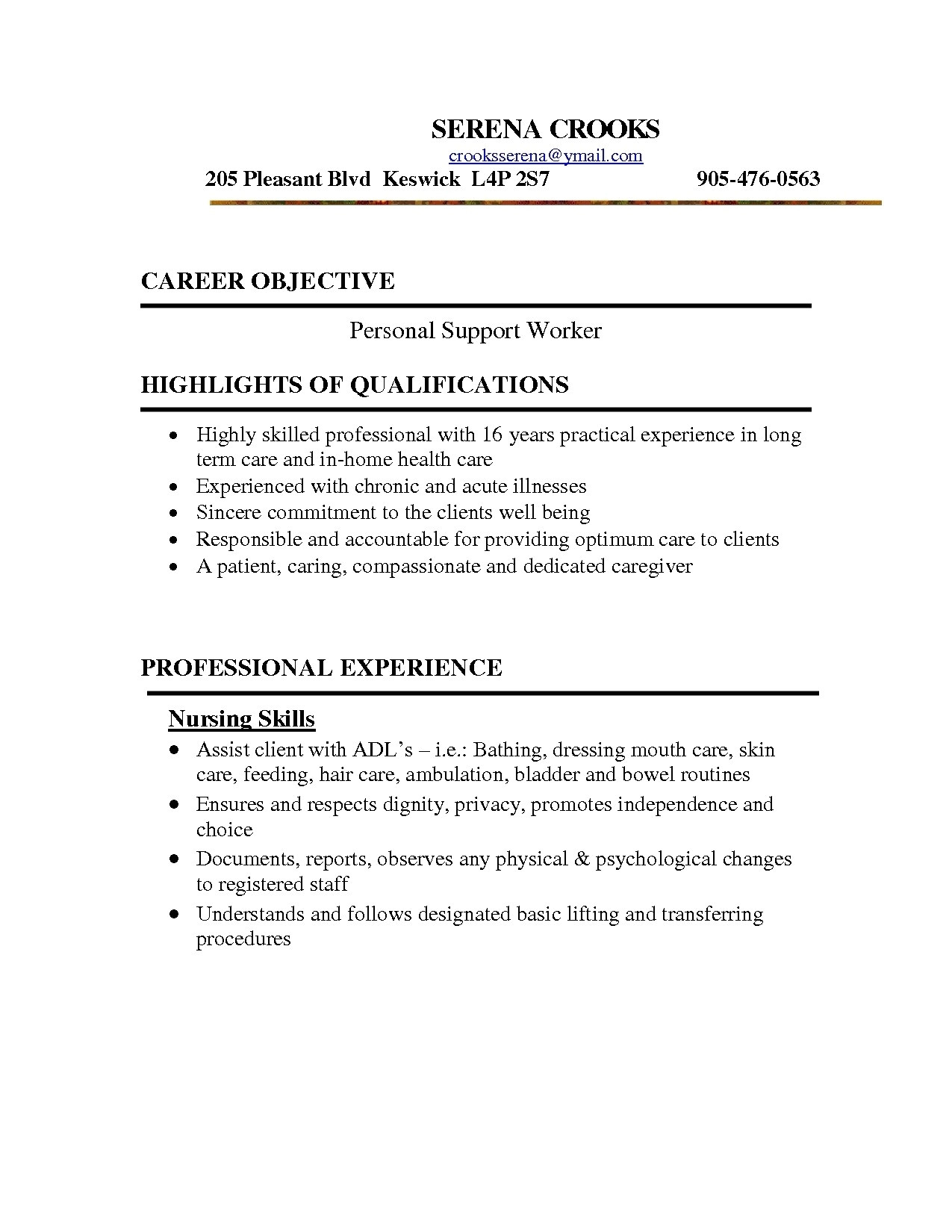 Psw Cover Letter Examples Psw Resume the Best Resume