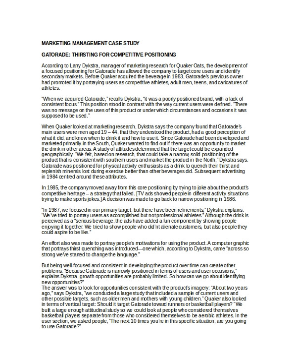 Psychological Case Study Template 10 Case Study Templates Free Sample Example format