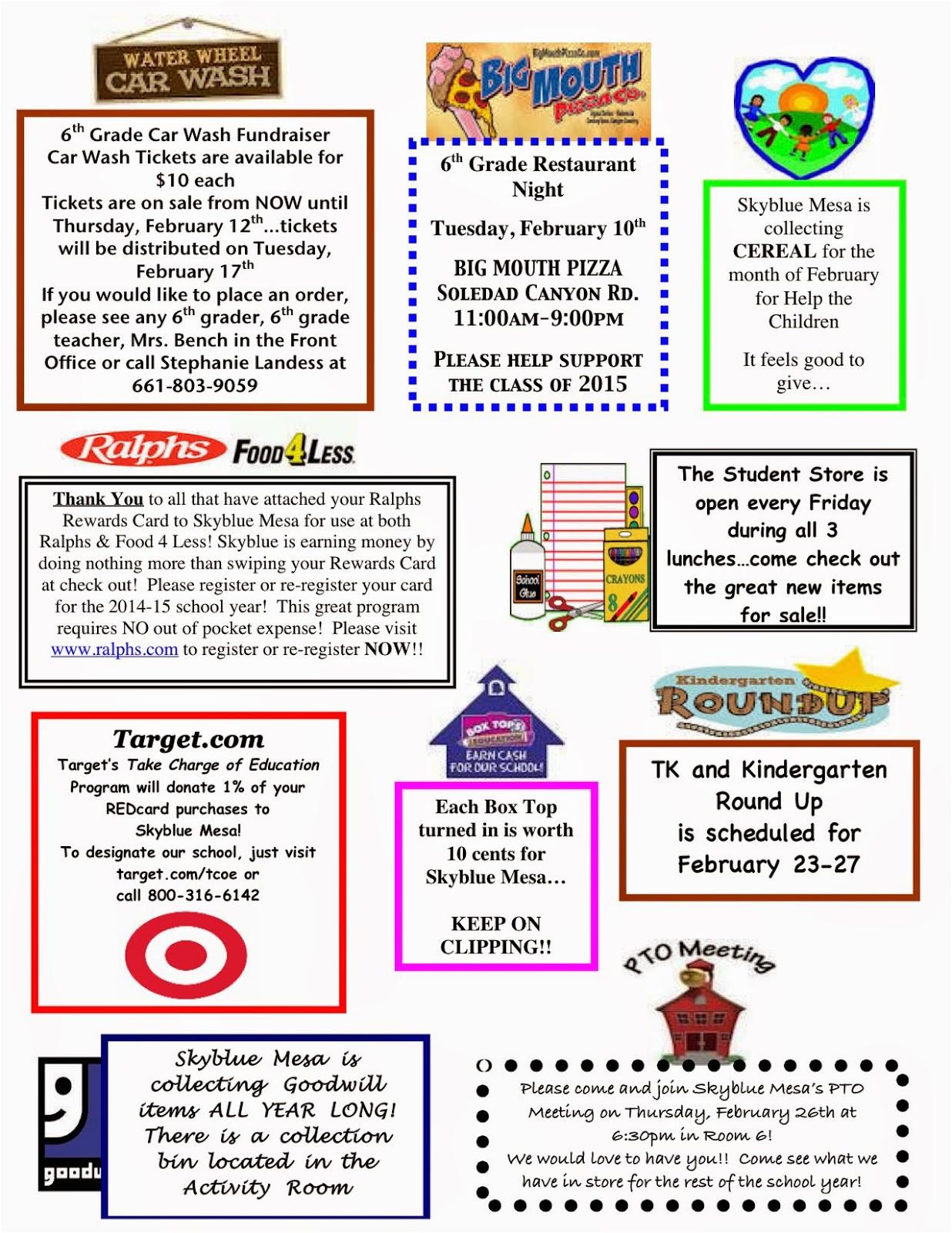 february 2015 pto newsletter