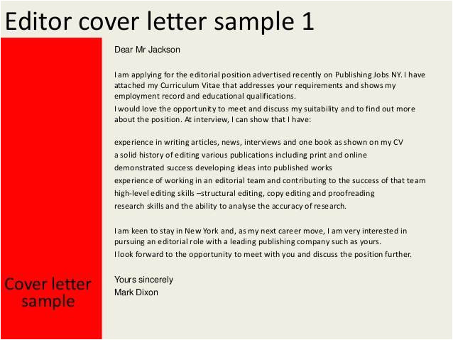 book publishing cover letter