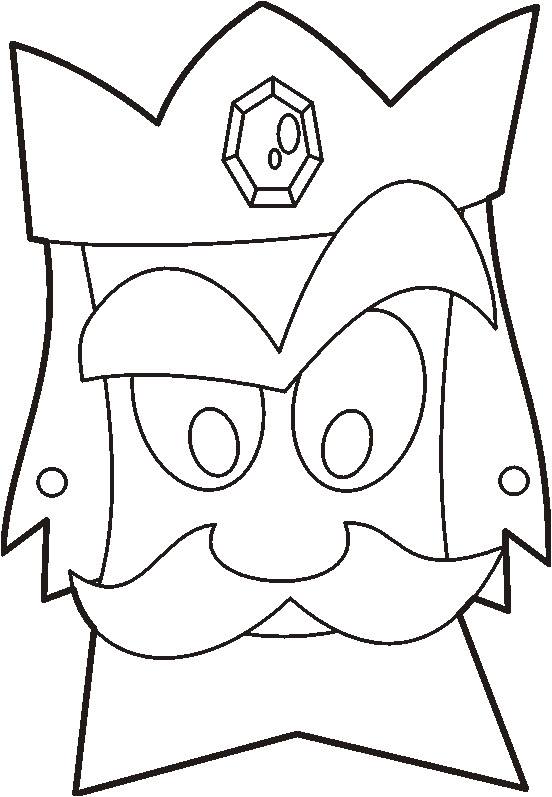 Purim Mask Template Purim Mask Yideaz
