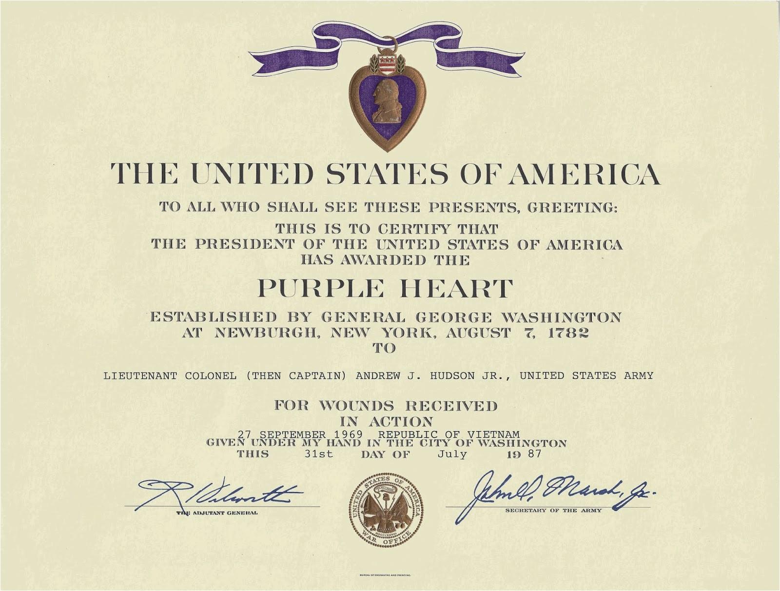 awards certificates citations and