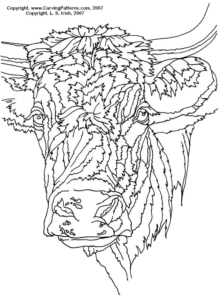 free wood carving patterns animals