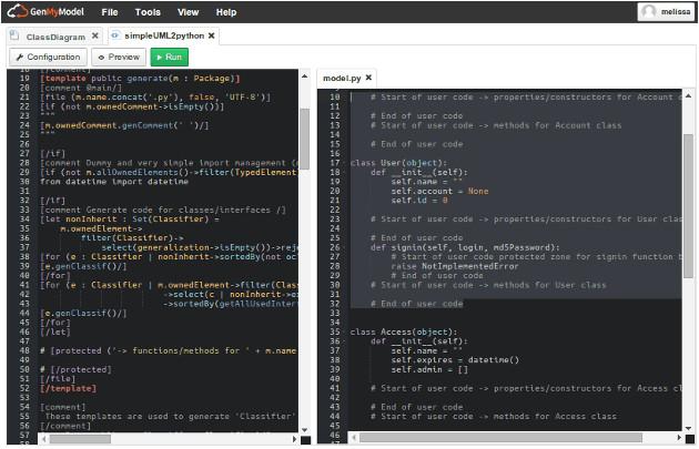 online python code generator