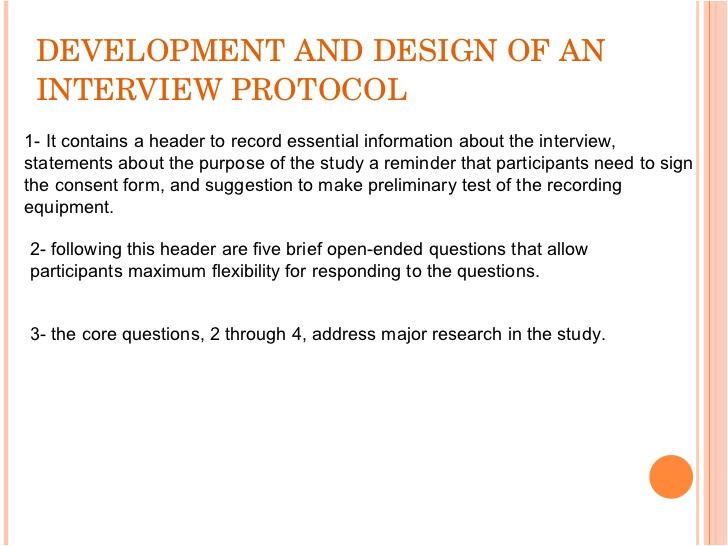 Qualitative Research Interview Protocol Template Collecting Qualitative Data