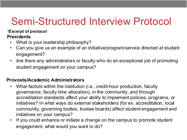 Qualitative Research Interview Protocol Template Counternarratives and Hbcu Student Success Naspa 3 24 15