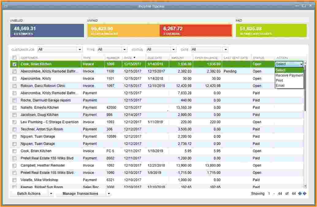 6 quickbooks expense report