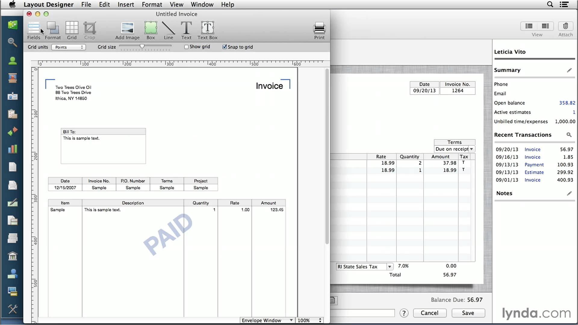 quickbooks invoice templates
