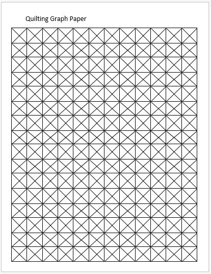 quilting graph papers