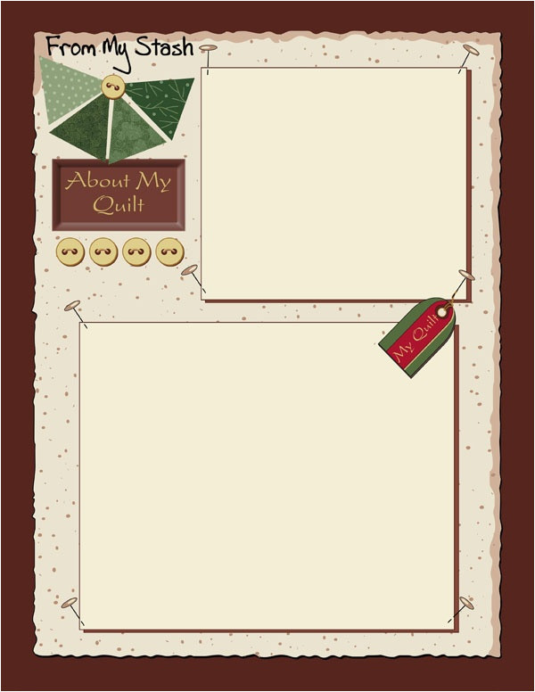 quilt journals