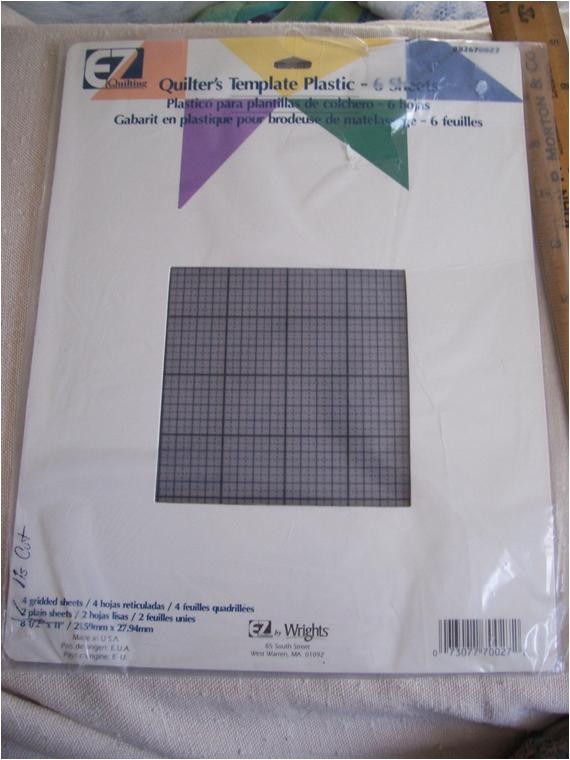 wrights ez quilting quilters template