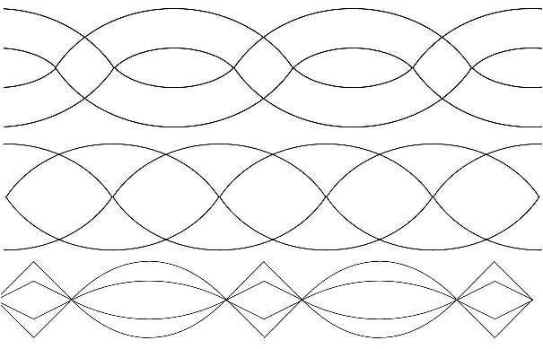 free motion quilting motifs