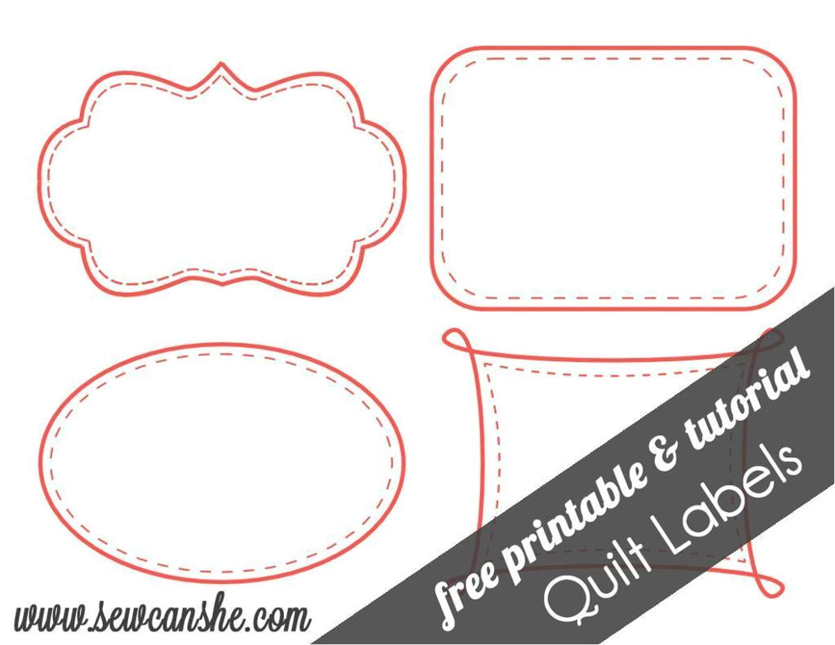 Quilting Templates Free Online Free Printable Quilt Labels Craftsy