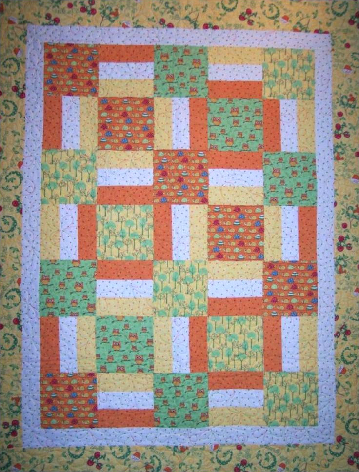 simple baby quilts patterns