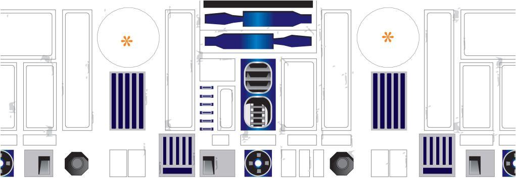 R2d2 Leg Template R2d2 Build Foam Body Wooden Legs Fibreglass Dome