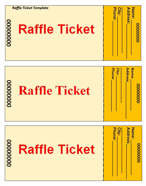 Raffel Ticket Template 23 Raffle Ticket Templates Pdf Psd Word Indesign