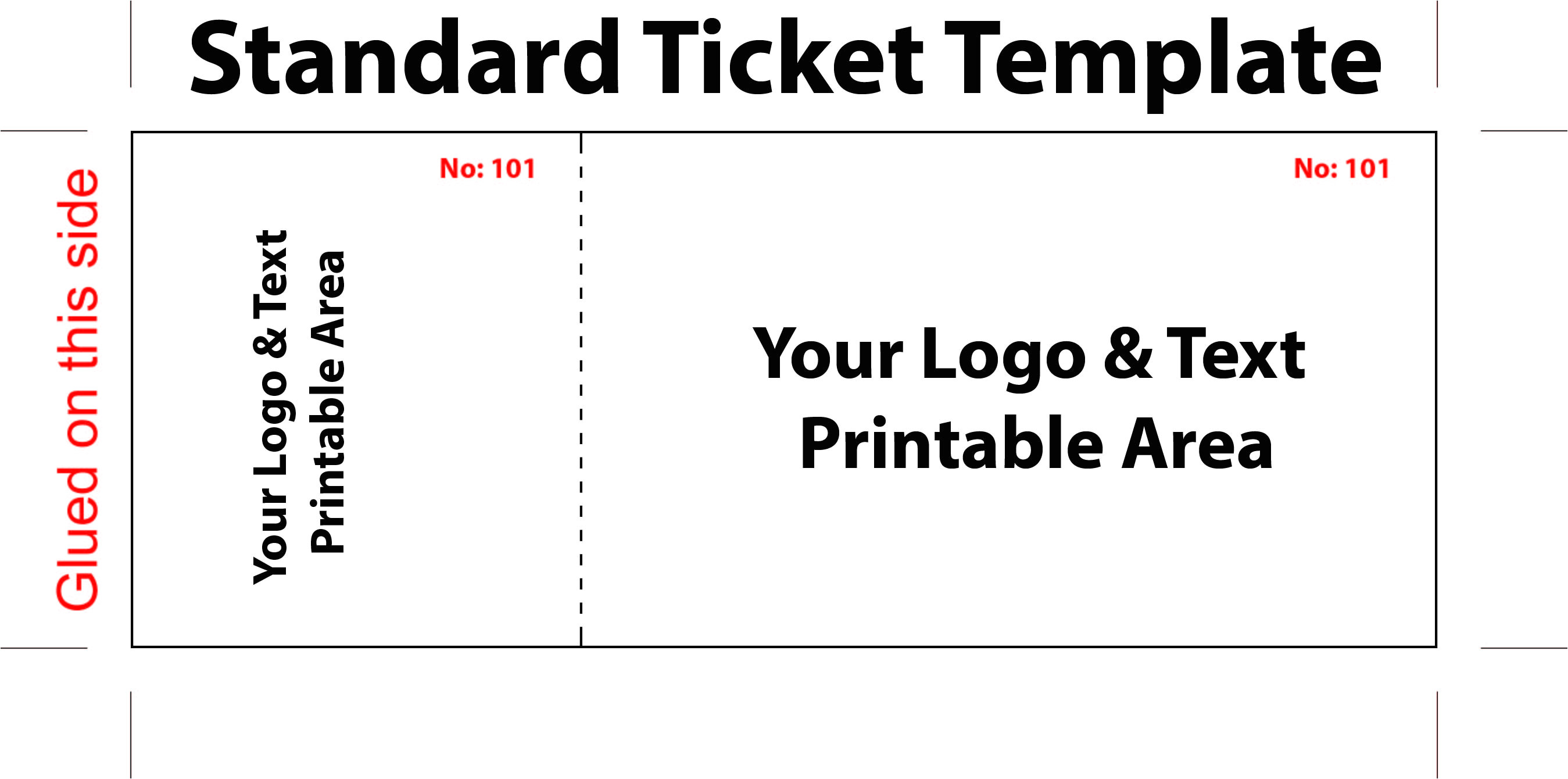 free blank event raffle ticket template word